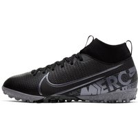 Nike Jr. Mercurial Superfly 7 Academy TF Younger/Older Kids' Artificial-Turf Football Shoe - Black