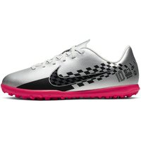 Nike Jr. Mercurial Vapor 13 Club Neymar Jr. TF Kids' Artificial-Turf Football Shoe - Grey