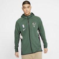 Milwaukee Bucks Nike Therma Flex Showtime Men's NBA Hoodie - Green