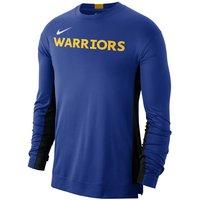 Golden State Warriors Nike Dri-FIT Men's NBA Shooting Top - Blue