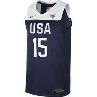 USA Nike (Road) Herren-Basketballtrikot - Blau