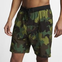 Hurley Phantom Alpha Trainer Men's 46cm Camo Shorts - Olive