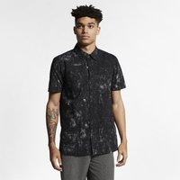 Hurley Casbah Men's Short-Sleeve Shirt - Black