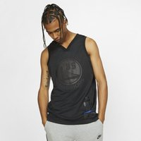 Kevin Durant MVP Swingman (Golden State Warriors) Men's Nike NBA Connected Jersey - Black