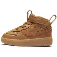 Nike Court Borough Mid 2 Baby and Toddler Boot - Brown