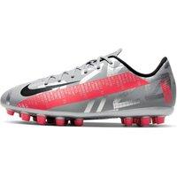 Nike Jr. Mercurial Vapor 13 Academy AG Kids' Artificial-Grass Football Boot - Grey
