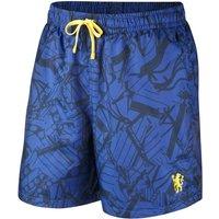 Chelsea FC Men's Woven Shorts - Blue