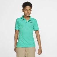 NikeCourt Dri-FIT Older Kids' (Boys') Tennis Polo - Green