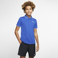 NikeCourt Dri-FIT Older Kids' (Boys') Tennis Polo - Blue