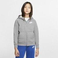 Худи с молнией во всю длину для девочек Nike Sportswear фото