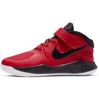 Nike Team Hustle D 9 FlyEase Younger Kids' Shoe - Red