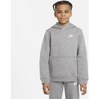 Nike Sportswear Club Older Kids' Pullover Hoodie - Grey