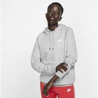 Nike Sportswear Essential Women's Fleece Pullover Hoodie - Grey