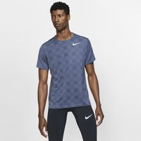 Nike Dri-FIT Miler Men's Short-Sleeve Knit Running Top - Purple