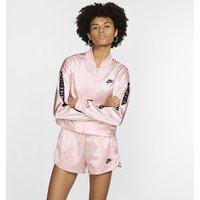 Nike Air Women's Satin Track Jacket - Pink