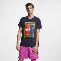 NikeCourt Men's Logo Tennis T-Shirt - Blue