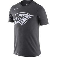 Thunder City Edition Logo Men's Nike Dri-FIT NBA T-Shirt - Black