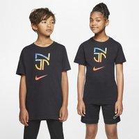 Nike Dri-FIT Neymar Jr Older Kids' Football T-Shirt - Black
