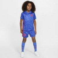 England 2020 Away Younger Kids' Football Kit - Blue
