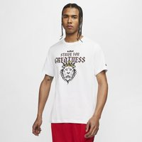 Nike Dri-FIT LeBron Strive For Greatness Basketball T-Shirt - White