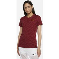 AS Roma Women's Football T-Shirt - Red