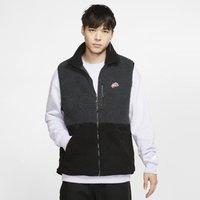 Nike Sportswear Men's Sherpa Fleece Gilet - Black