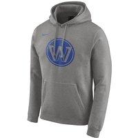 Warriors City Edition Logo Men's Nike NBA Hoodie - Grey