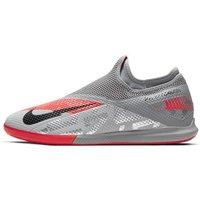 Nike Phantom Vision 2 Academy Dynamic Fit IC Indoor Court Football Shoe - Grey