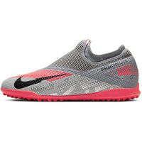 Nike Phantom Vision 2 Academy Dynamic Fit TF Artificial-Turf Football Shoe - Grey