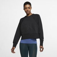 Nike Dri-FIT Get Fit Women's Fleece Training Crew - Black