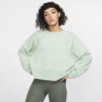 Nike Dri-FIT Get Fit Women's Fleece Training Crew - Green