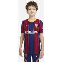 Футбольное джерси для школьников из домашней формы ФК «Барселона» 2020/21 Vapor Match фото