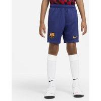 Футбольные шорты для школьников из домашней/выездной формы ФК «Барселона» 2020/21 Stadium фото