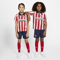 Футбольный комплект для дошкольников с символикой домашней формы ФК «Атлетико Мадрид» 2020/21 фото