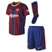 Футбольный комплект для дошкольников с символикой домашней формы ФК «Барселона» 2020/21 фото
