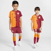 Футбольный комплект для дошкольников с символикой домашней формы ФК «Галатасарай» 2020/21 фото