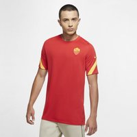 AS Roma Strike Men's Short-Sleeve Football Top - Red