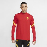 AS Roma Strike Men's 1/4-Zip Football Drill Top - Red