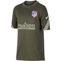 Atletico Madrid Strike Older Kids' Short-Sleeve Football Top - Green