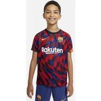 Игровая футболка с коротким рукавом для школьников FC Barcelona фото