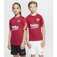 Игровая футболка с коротким рукавом для школьников FC Barcelona Strike фото