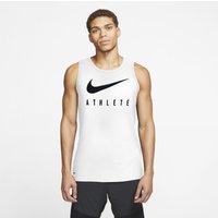 Nike Dri-FIT Men's Swoosh Training Tank - White