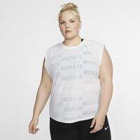 Nike Plus Size - Air Women's Short-Sleeve Running Top - White