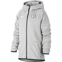 Футбольная худи с молнией во всю длину для школьников Chelsea FC Tech Fleece фото