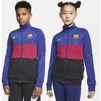 Футбольная куртка для школьников FC Barcelona фото
