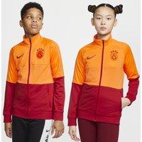 Galatasaray Older Kids' Football Tracksuit Jacket - Orange