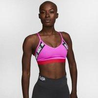 Спортивное бра с легкой поддержкой для йоги с логотипом Nike Indy фото