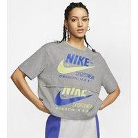 Nike Sportswear Icon Clash Women's Short-Sleeve Top - Grey