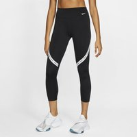 Nike One Women's Mid-Rise Crops - Black