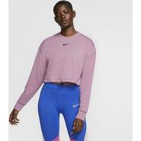 Nike Sportswear Swoosh Women's French Terry Crew - Purple